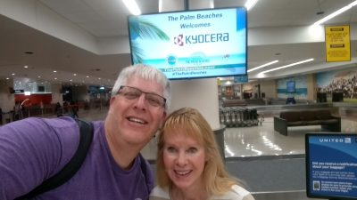 Premier Dealer trip-Kevin and Karen airport 2019
